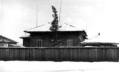 Родовой дом Л.В. Киренского в с. Амга