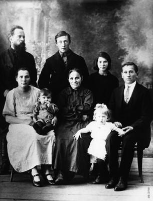 Семья Киренских, 1927 год