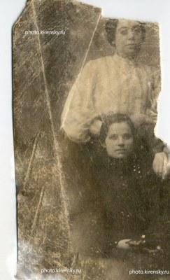 Старое фото мамы