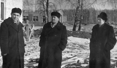 И.А. Терсков, Л.В. Киренский, И.И.Гительзон