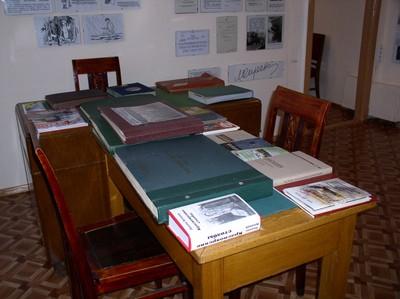 Экспозиция в первой комнате музея
