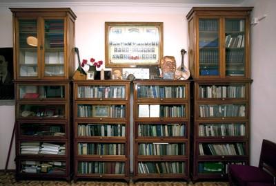 Фрагмент личной библиотеки Л.В. Киренского