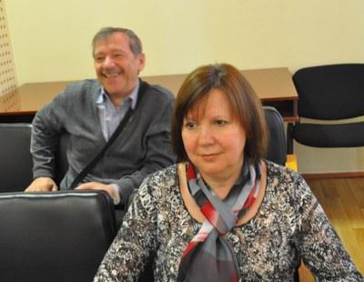И. П. Лукина и В. А. Гуняков