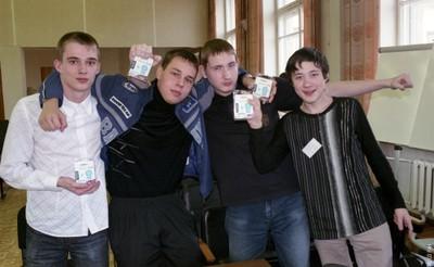 Команда учащихся школы № 144
