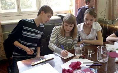 Учащиеся Березовской школы № 3