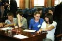 Учащиеся из команды гимназии № 13