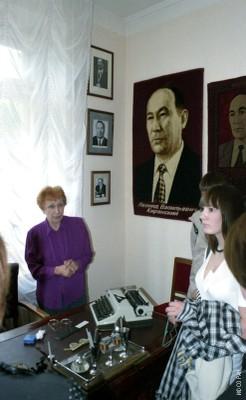 В музее Л. В. Киренского