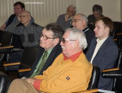 На торжественном заседании ученого Совета
