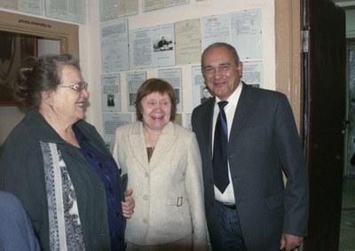 В мемориальном музее Л.В. Киренского