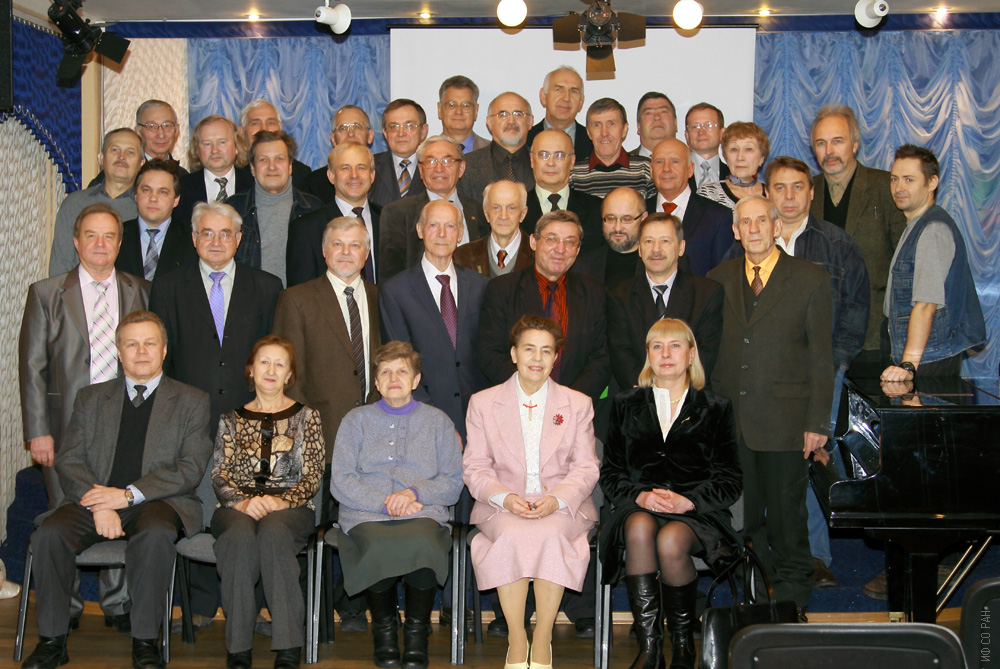 Участники семинара отдела оптики
